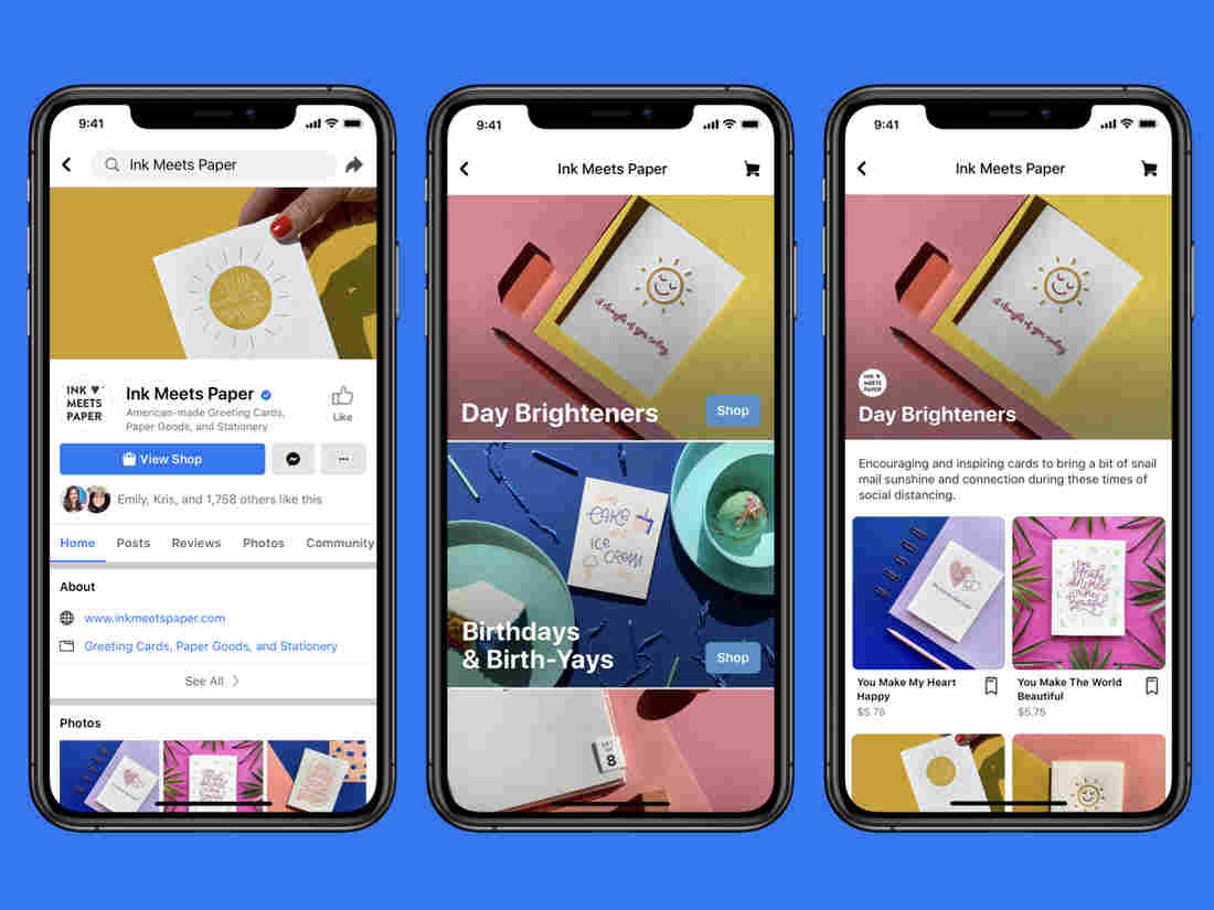 Read more about the article Facebook launches and unveils Facebook Shops For small business