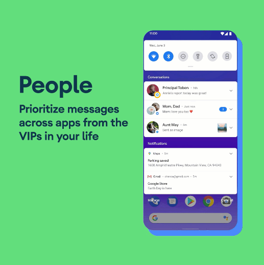 Conversation - Android 11 Feature