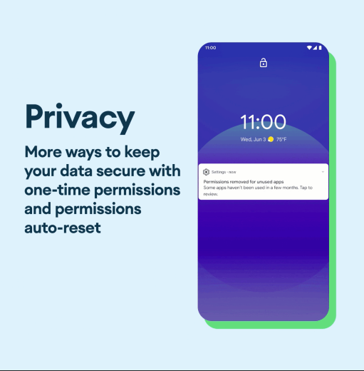 Privacy - Android 11 Feature