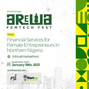 Arewa Femtech Fest in support with Startup Arewa partners with Techibytes and other media to hold Northern  Nigeria Women virtual Hackathon