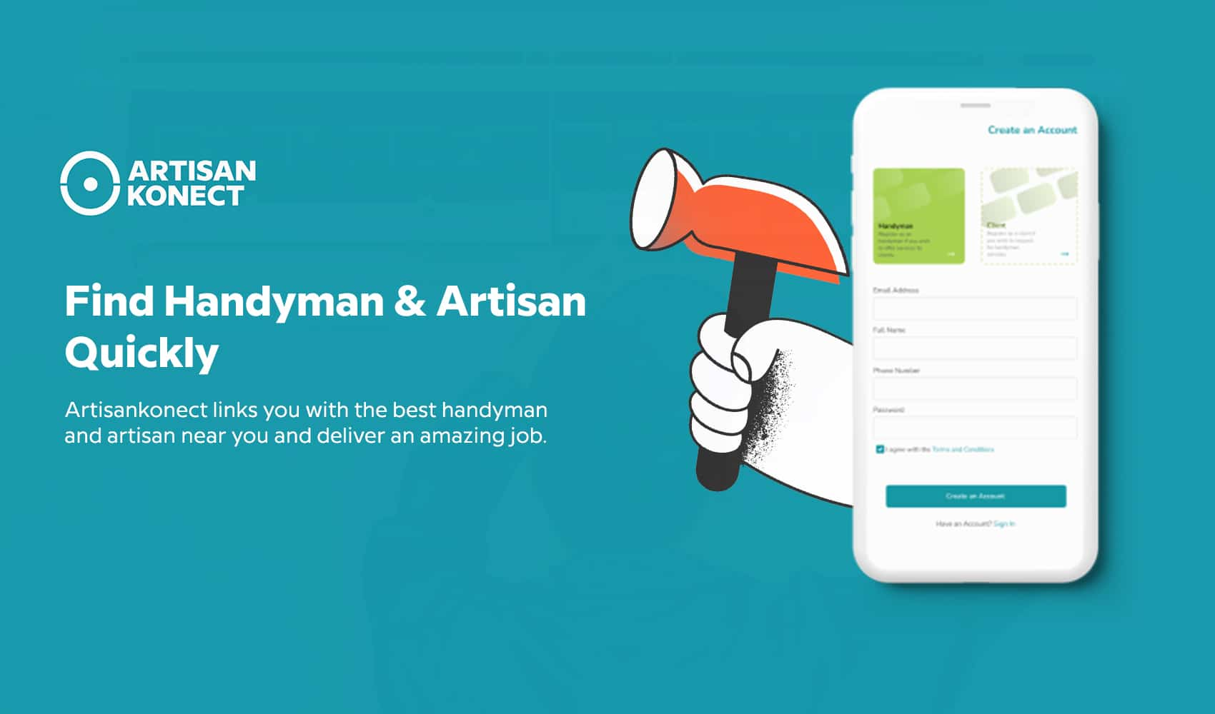 Read more about the article ArtisanKonect creating a platform For Creative Talents to connects Clients in Nigeria